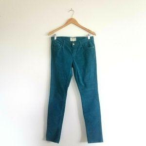 Current/Elliott The Skinny Corduroy Pants size 28